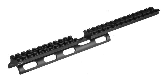 Leapers Utg Tactical Scout Slim Scope Base Rail For Ruger
